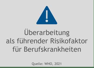 Überarbeitung als Risikofaktor